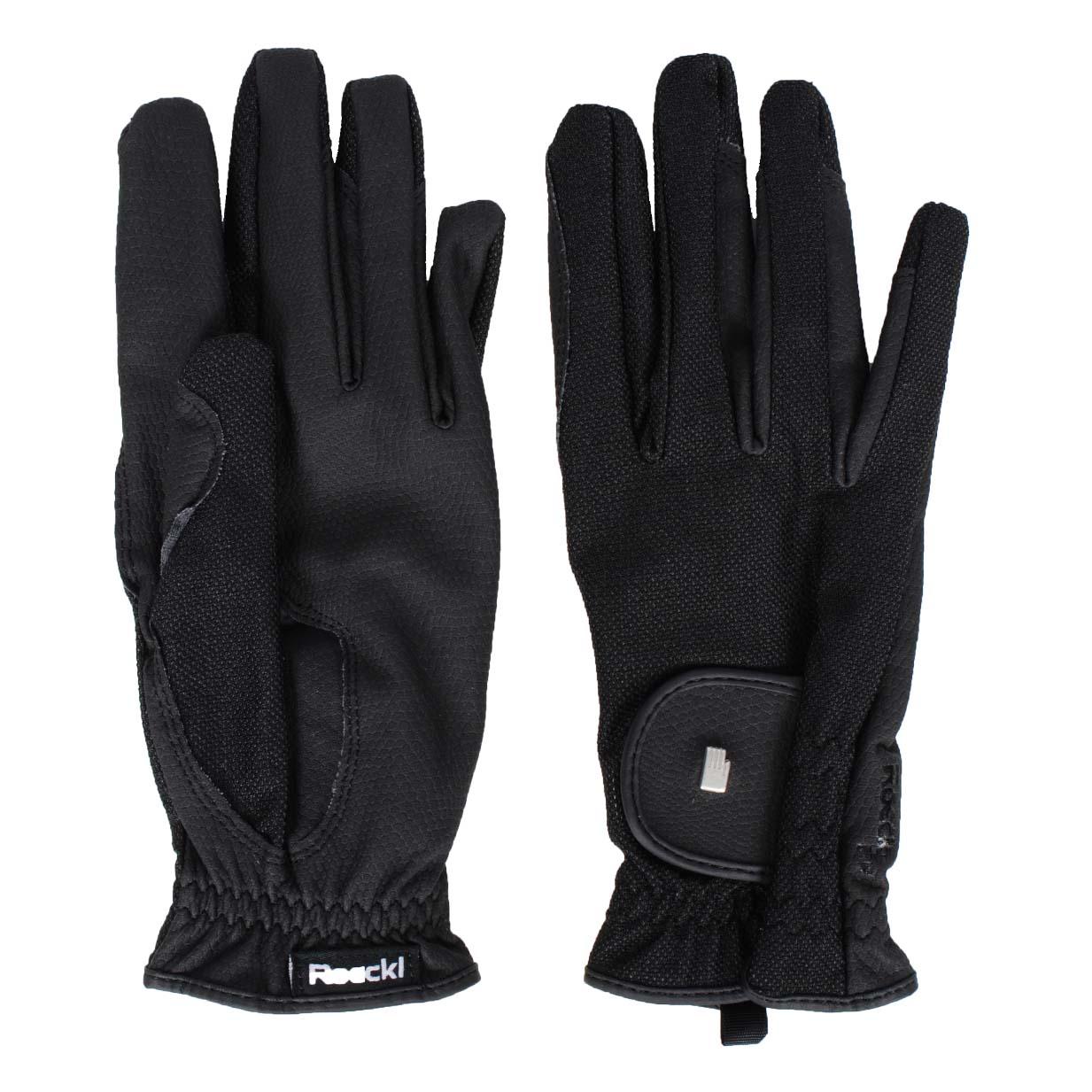 Roeckl Roeck Grip Lite handschoenen zwart maat:8,5