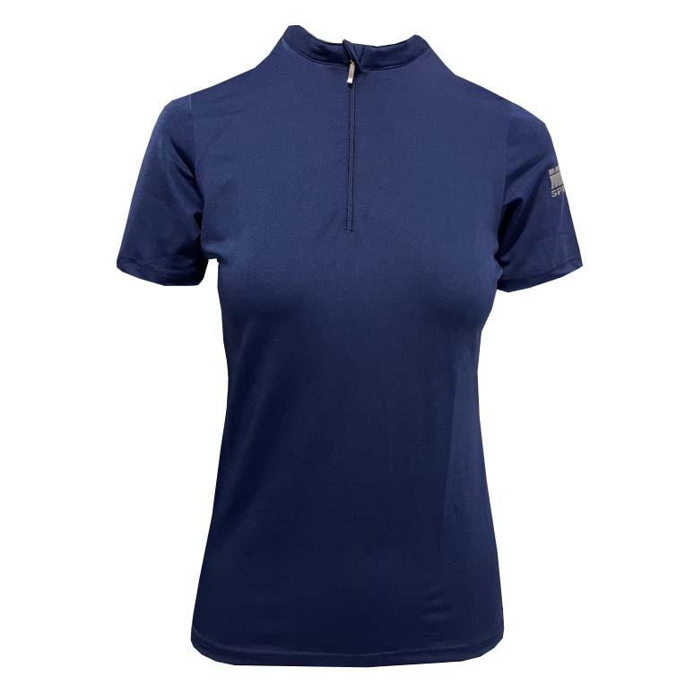 Mondoni Active kinder trainingsshirt korte mouw blauw maat:164