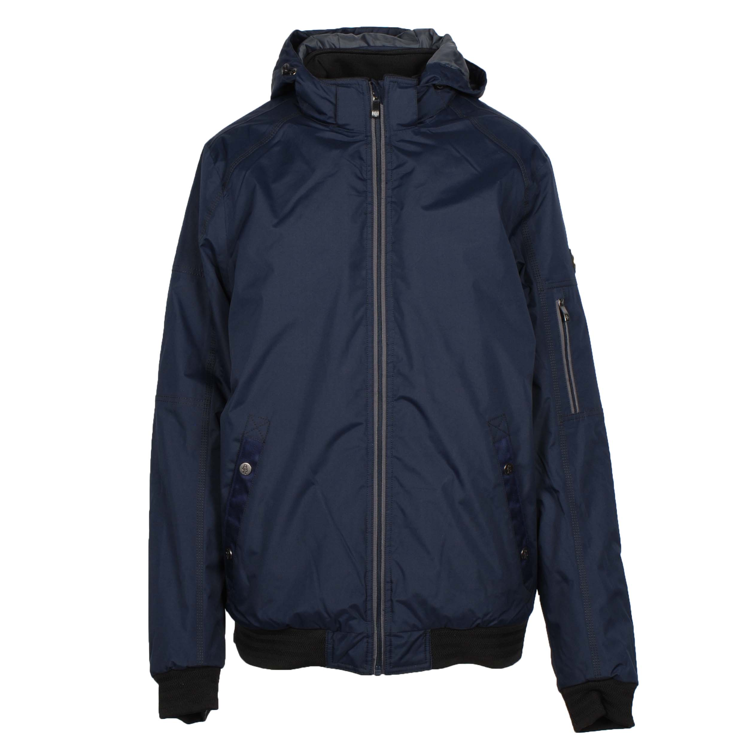 BR Paxton heren bomber donkerblauw maat:m