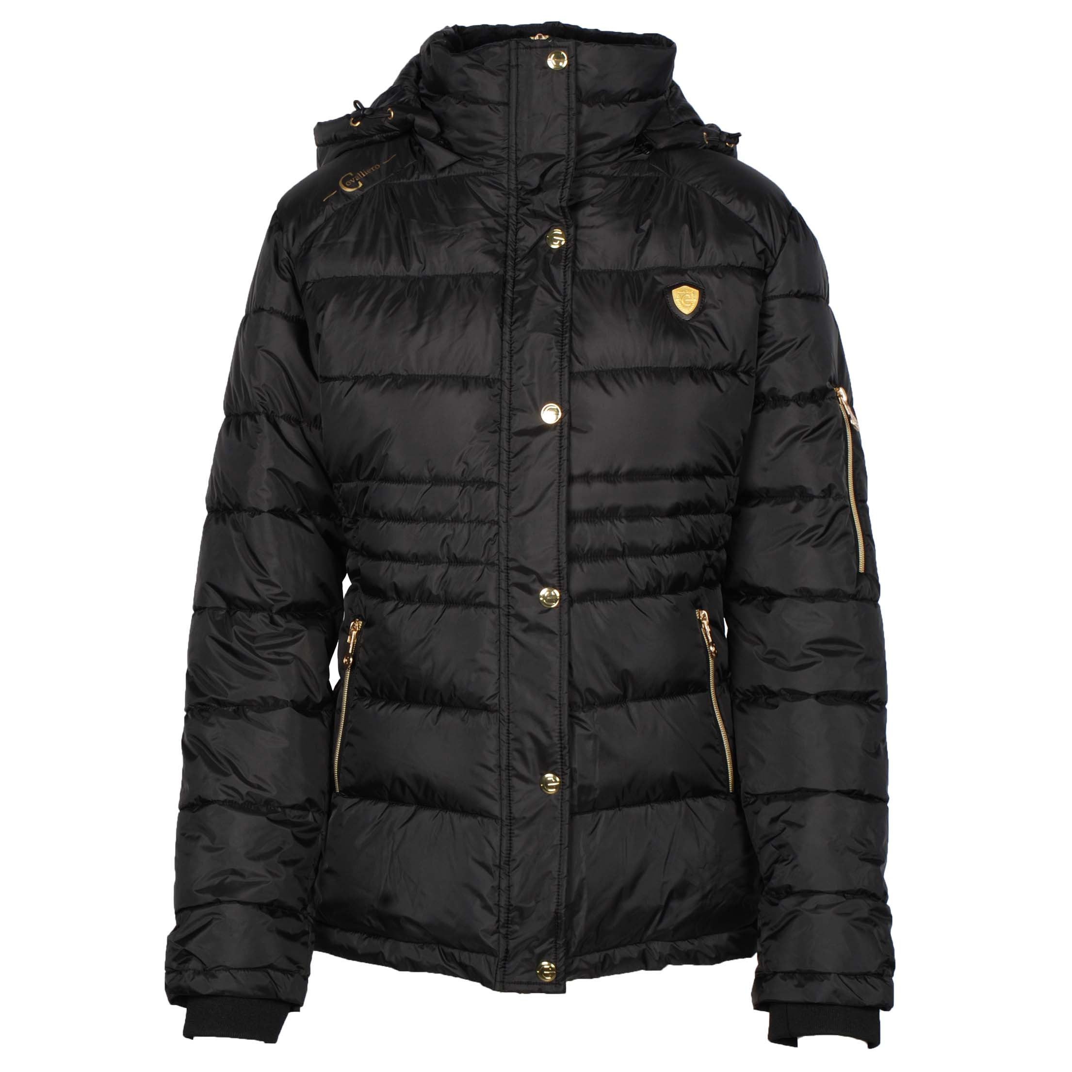Covalliero Quilted Short jack donkergrijs maat:xs