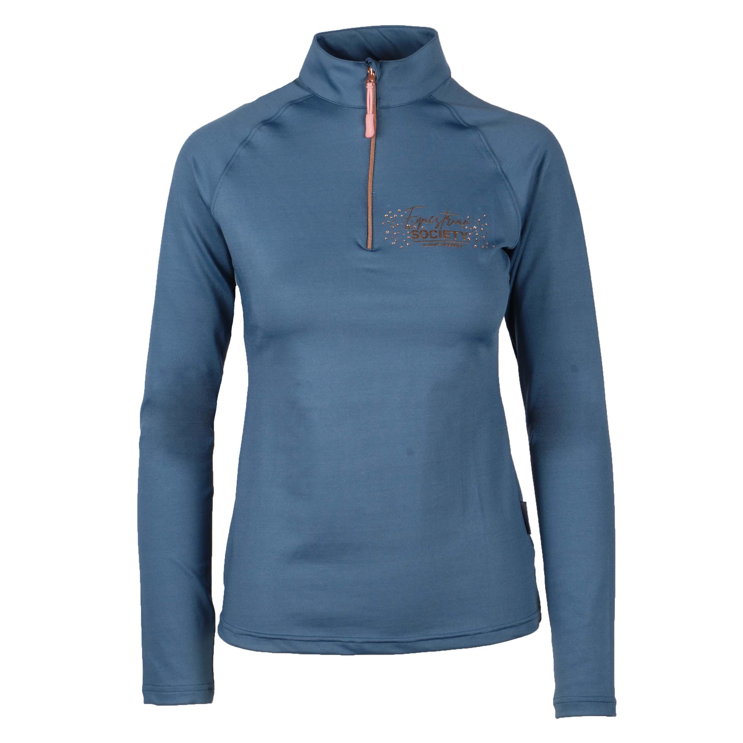 Harrys Horse Queenstown techshirt blauw maat:xl