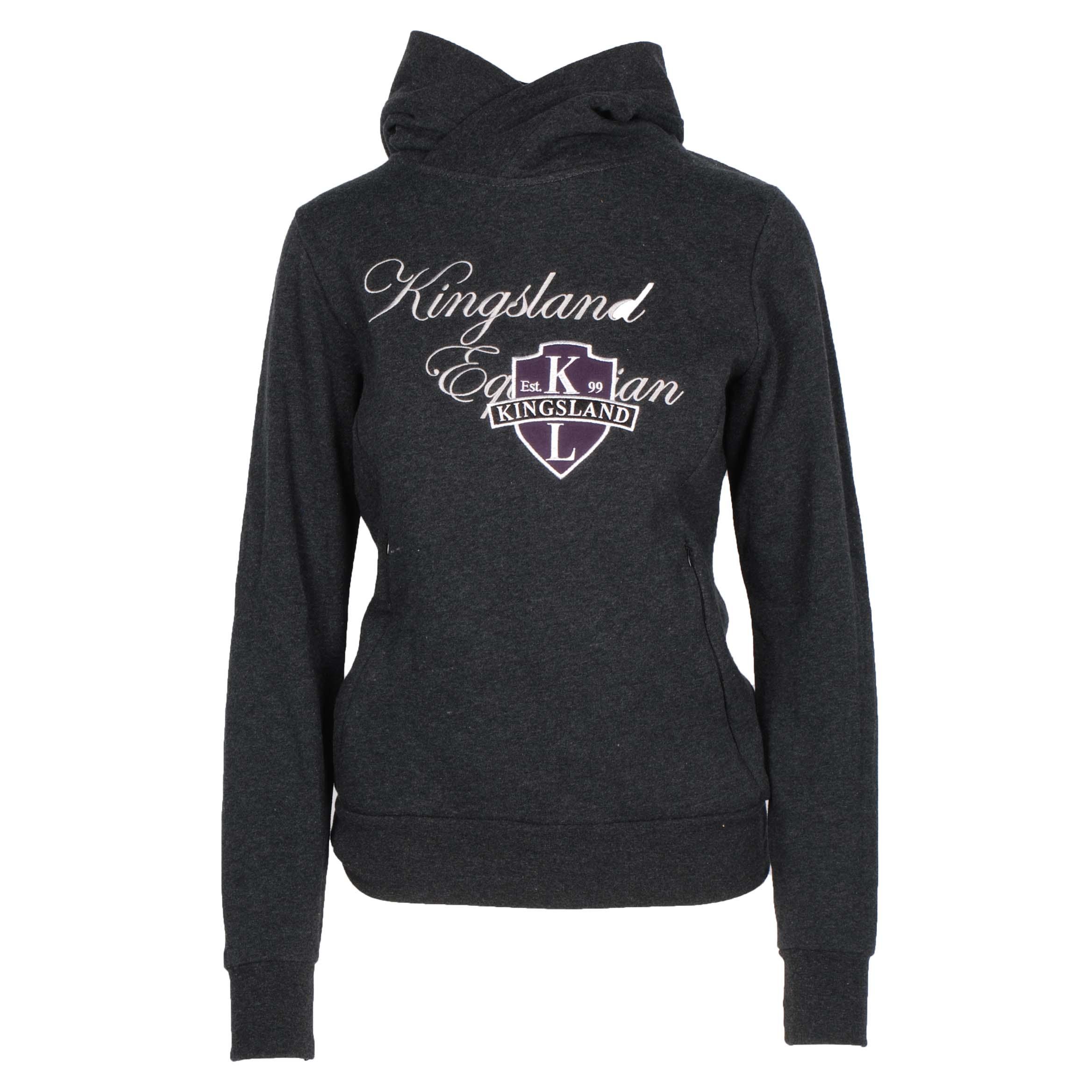Kingsland Deanna sweater donkergrijs maat:xs