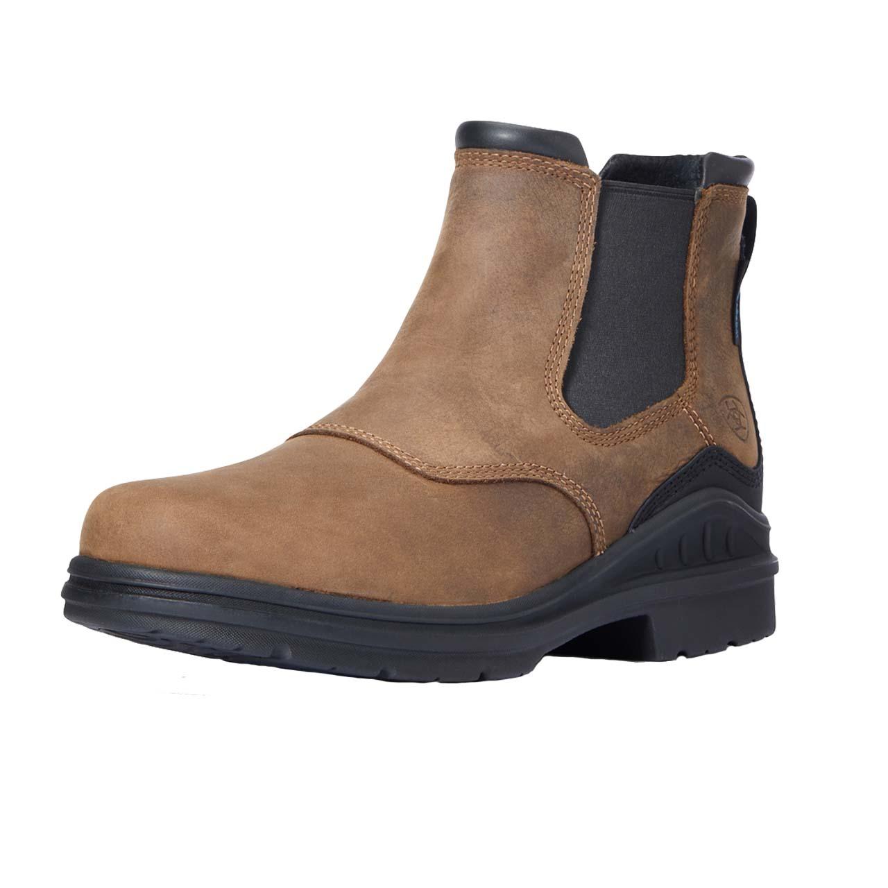 Ariat Barnyard Twin Gore II heren schoenen donkerbruin maat:44