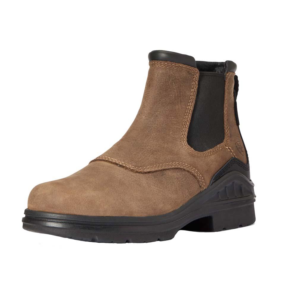 Ariat Barnyard Twin Gore II schoenen donkerbruin maat:38