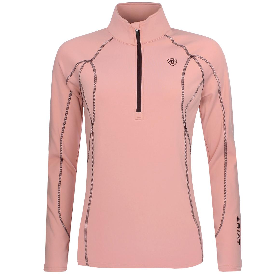 Ariat Conquest nj20 techshirt roze maat:m