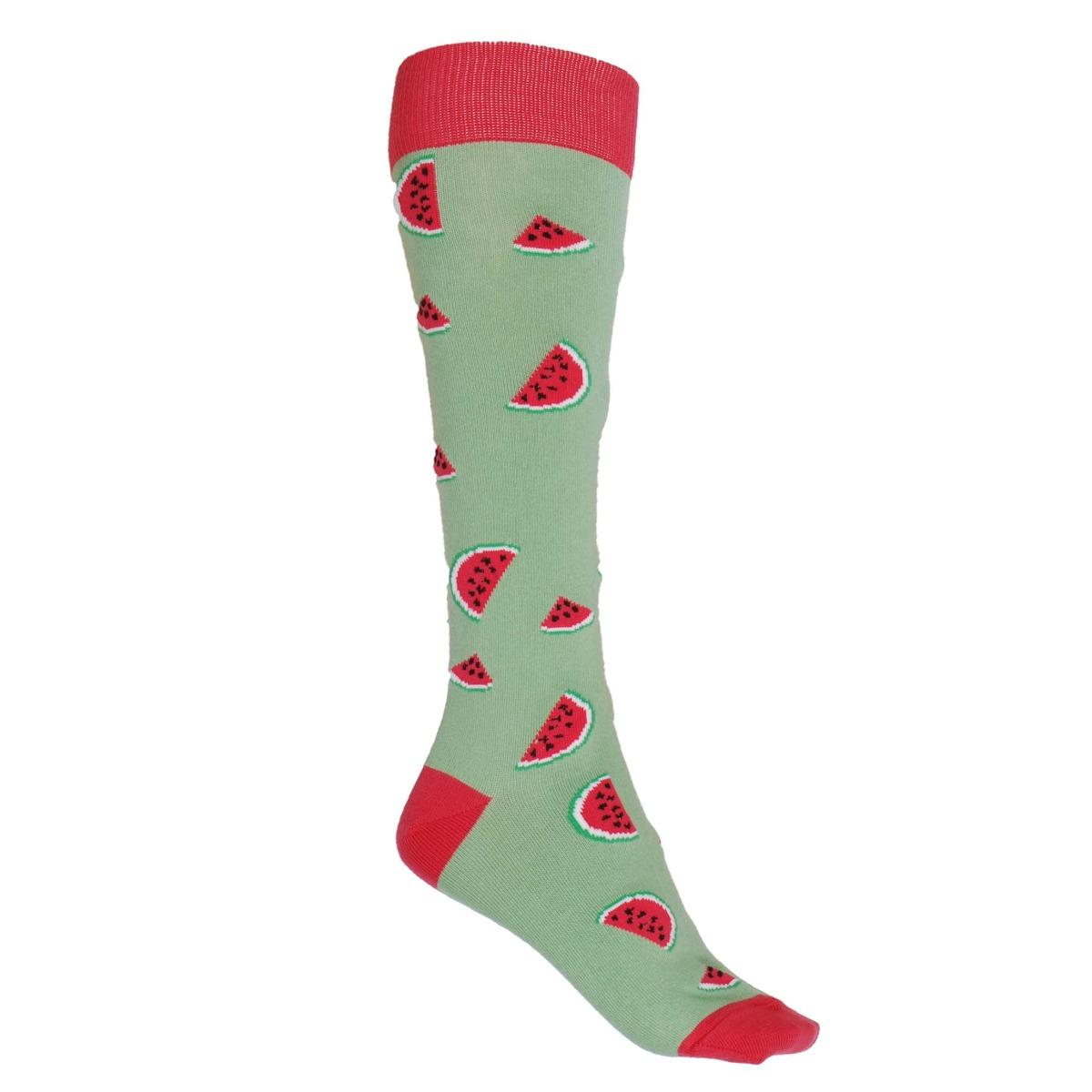 Mondoni Watermeloen kniekousen lichtgroen maat:39-42