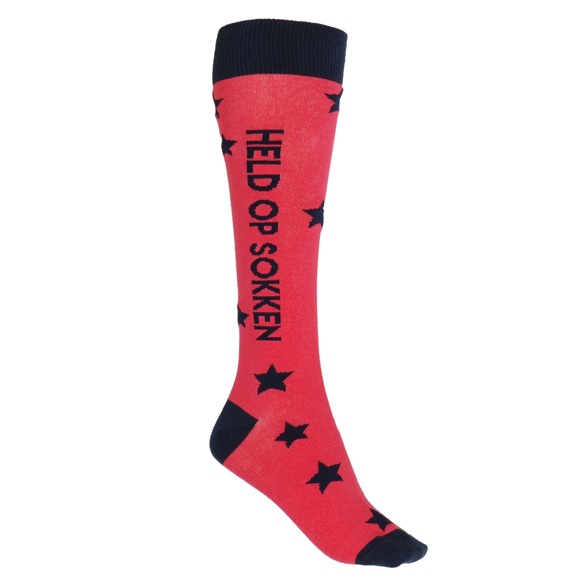 Mondoni Held op sokken kniekousen roze maat:35-38