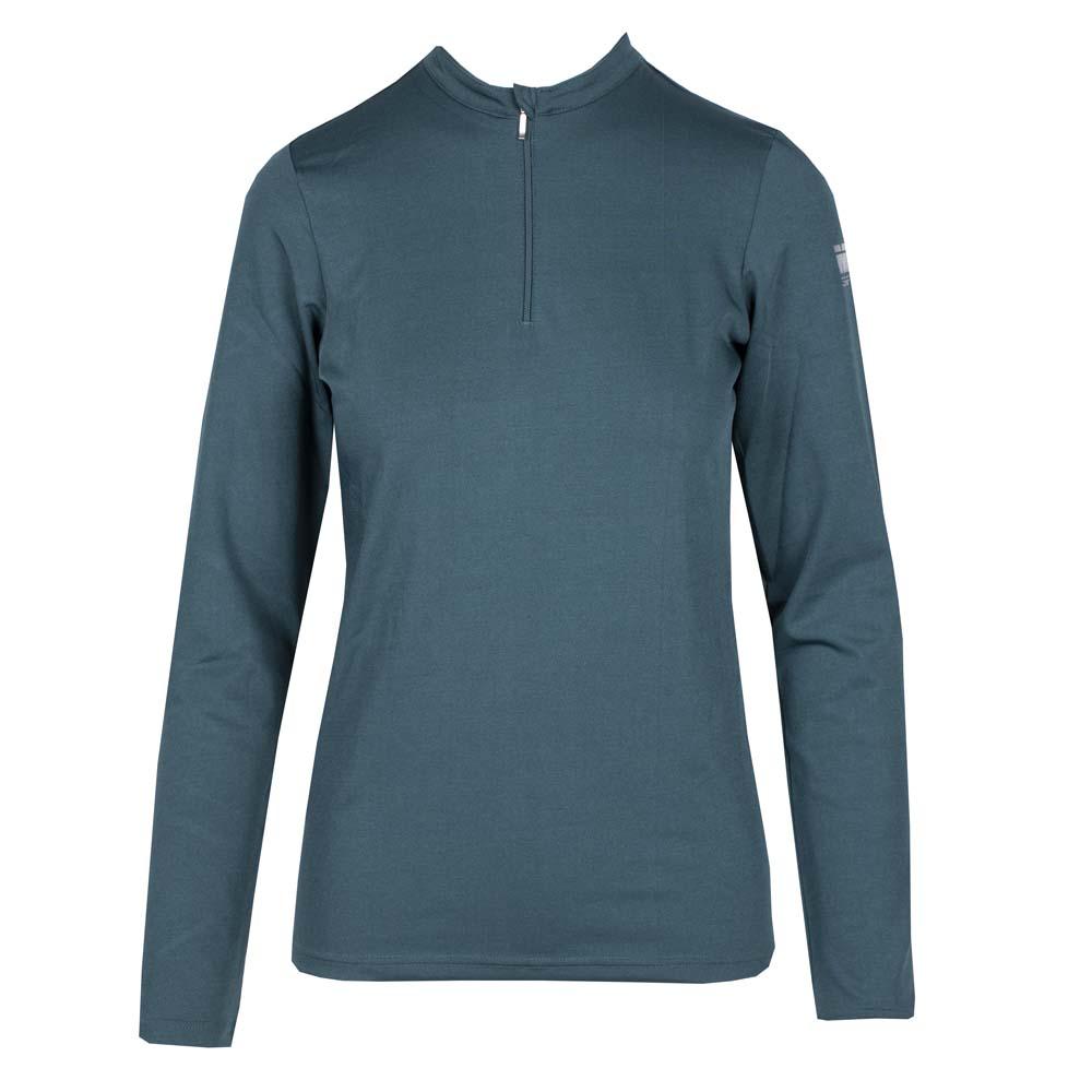 Mondoni Trainingsshirt Active Long Sleeve petrol maat:xs