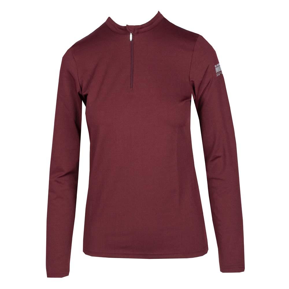 Mondoni Trainingsshirt Active Long Sleeve bordeaux maat:l