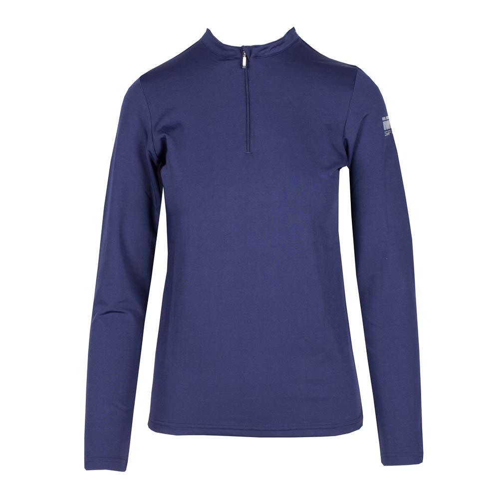 Mondoni Active trainingsshirt jr lange mouw donkerblauw maat:152