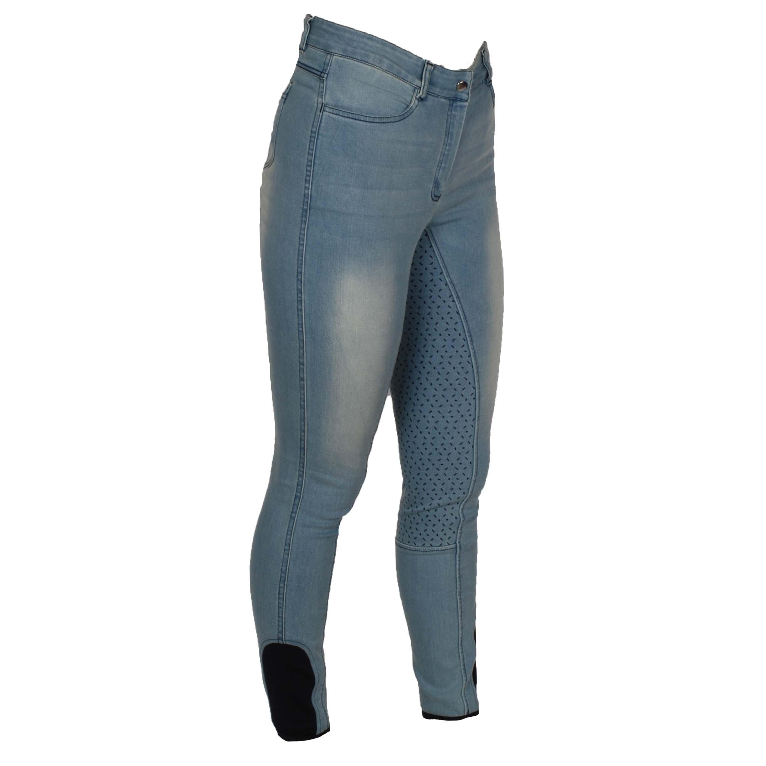 Mondoni Bellville jeans FG rijbroek jeans maat:34