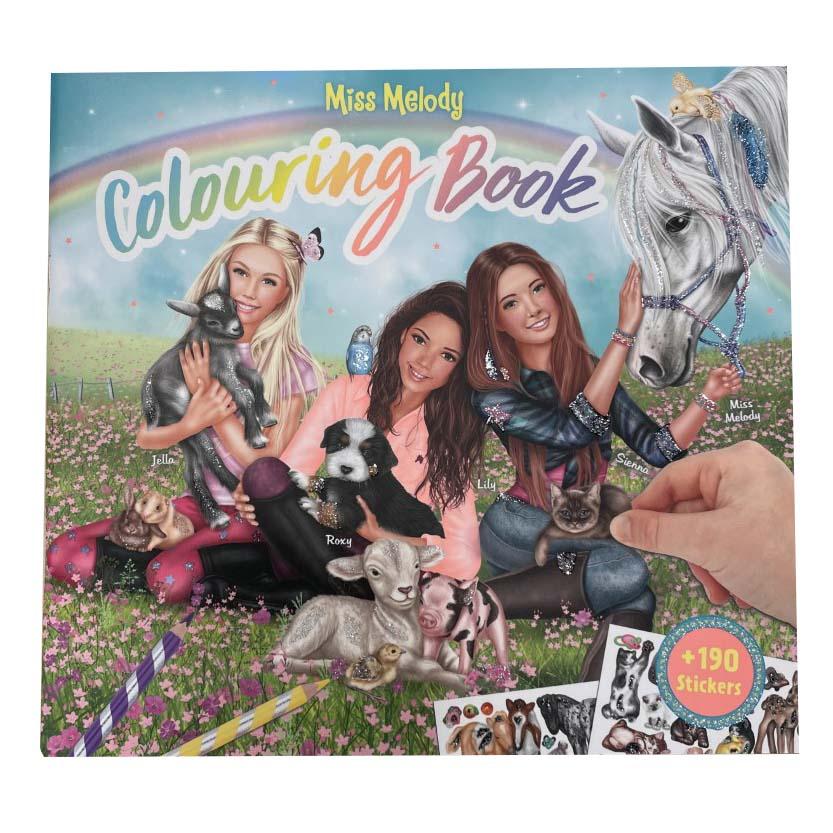 Miss Melody dieren kleurboek
