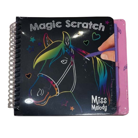 Miss Melody Scratch boek Mini Magic