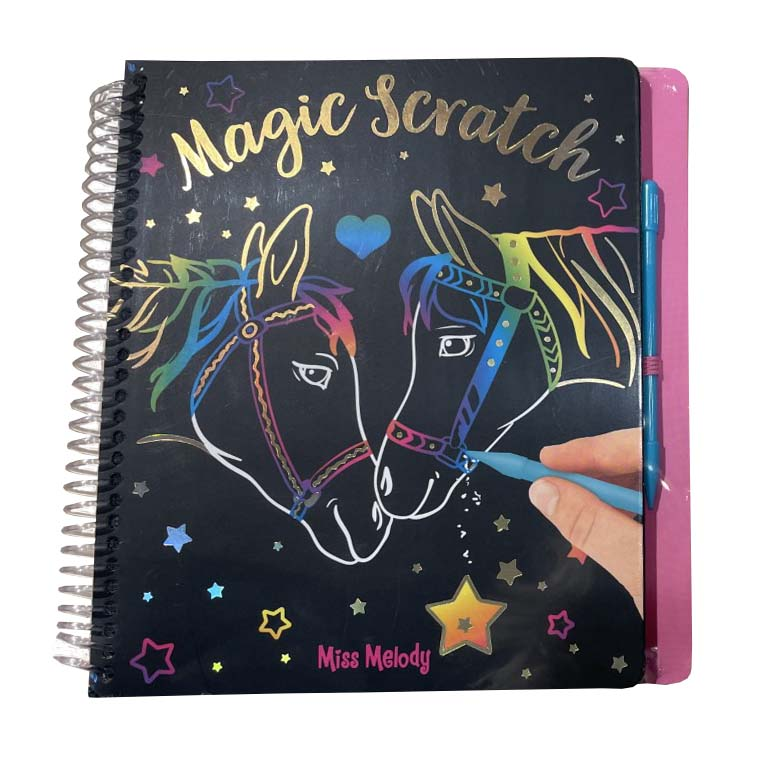 Miss Melody Magic Scratch boek II