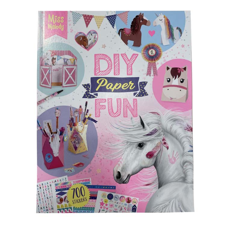 Miss Melody DIY Paper Fun boek