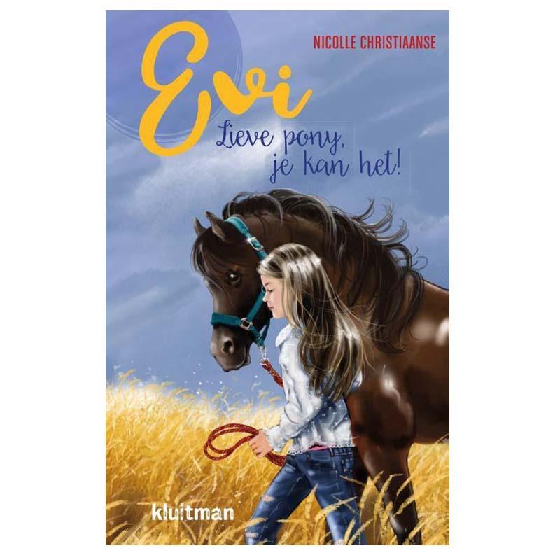 Evi Lieve pony, je kan het!
