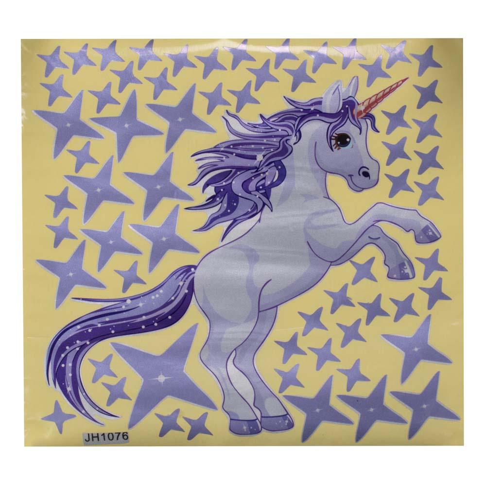Mondoni Unicorn Star Muursticker