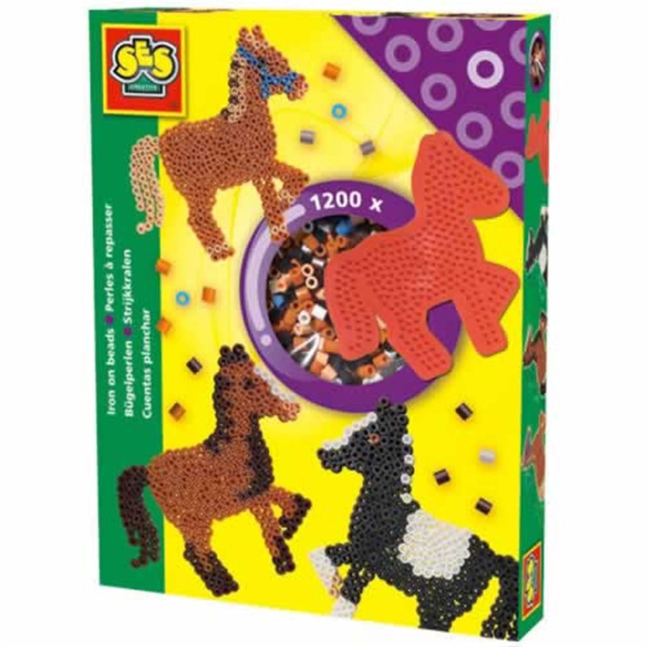 Strijkkralenset paard