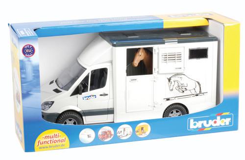 Paardenvrachtwagen incl. paard