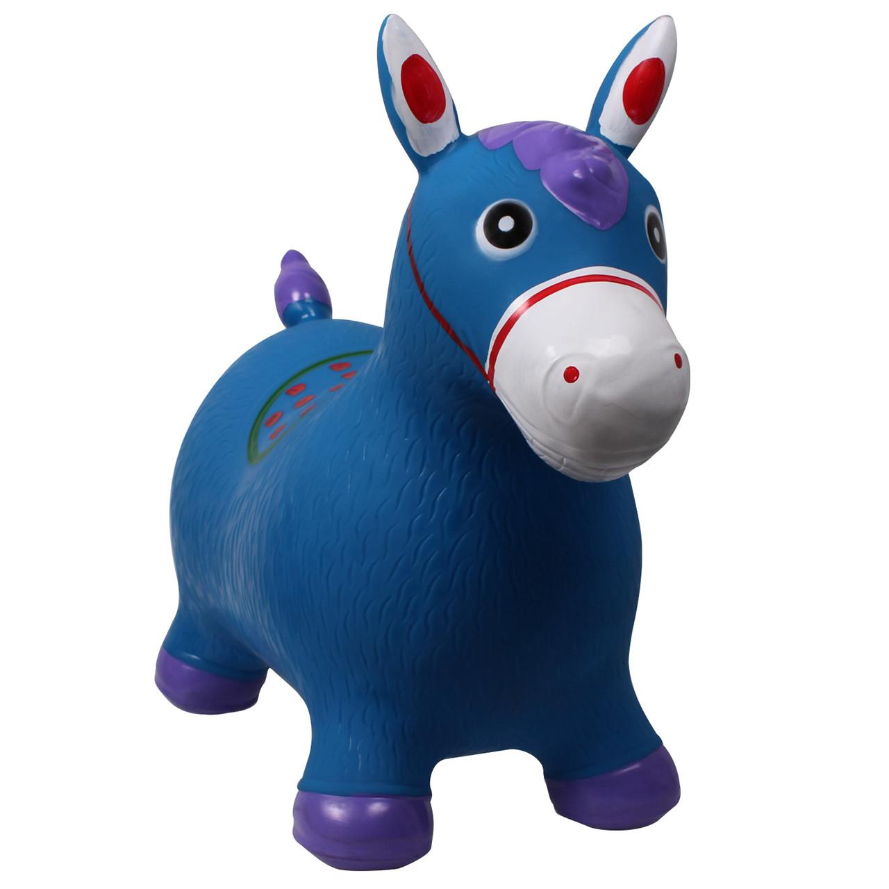 QHP Skippy Horse Jumpy blauw maat:50