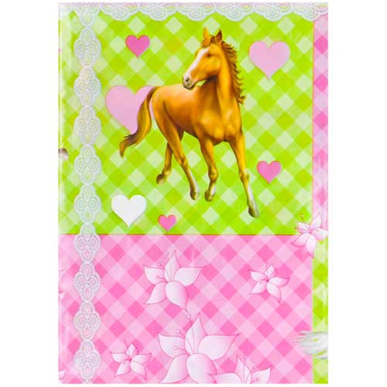 Feest tafelkleed met paarden
