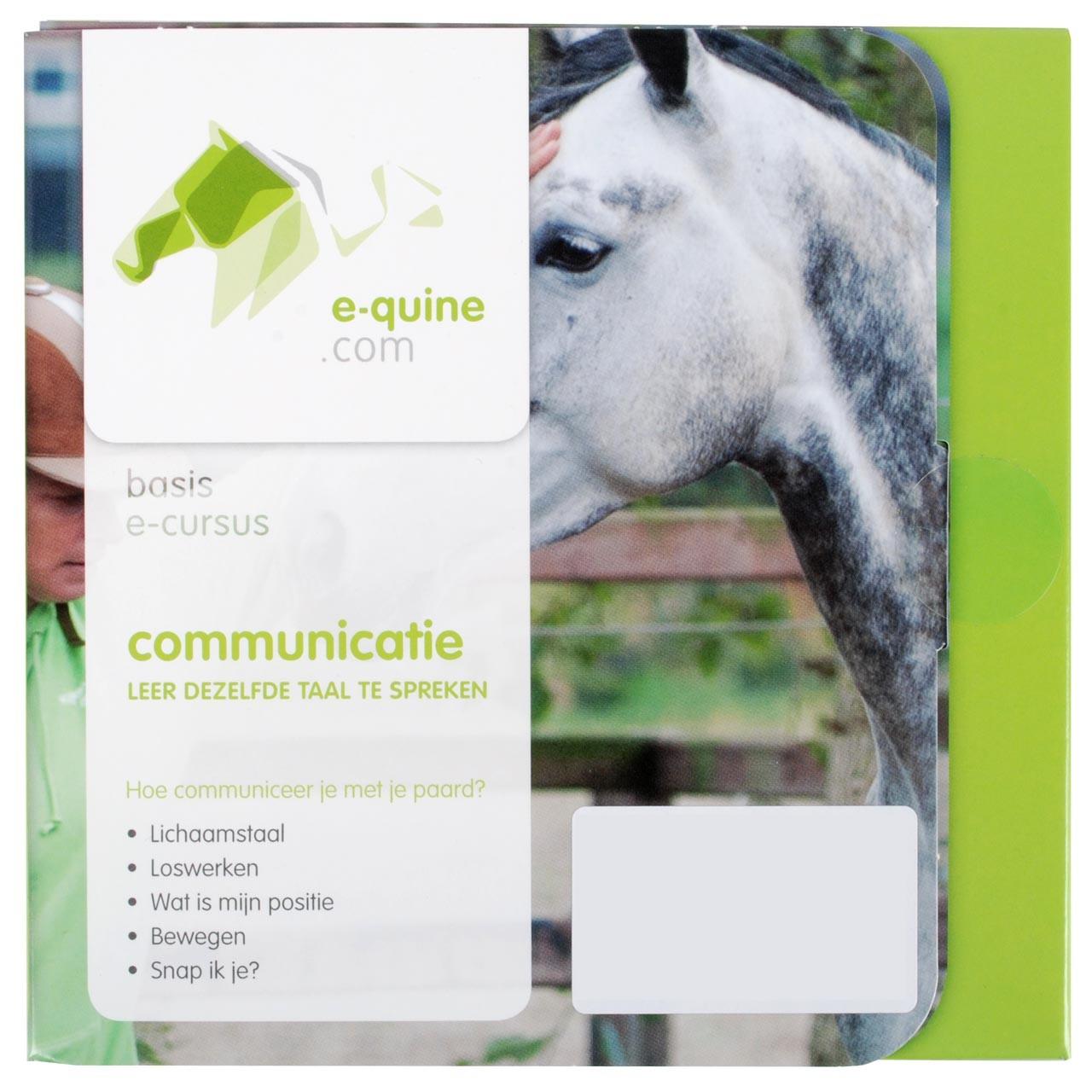 E-quine E-cursus Communicatie
