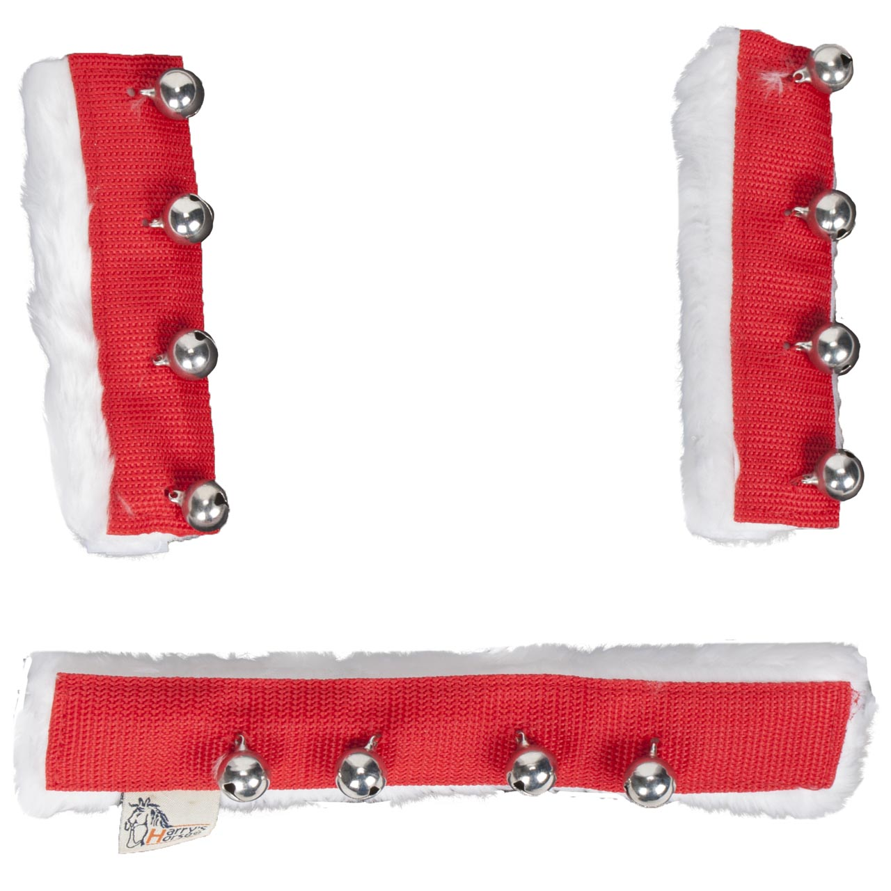 Harrys Horse Kerst Jingle Bells set rood