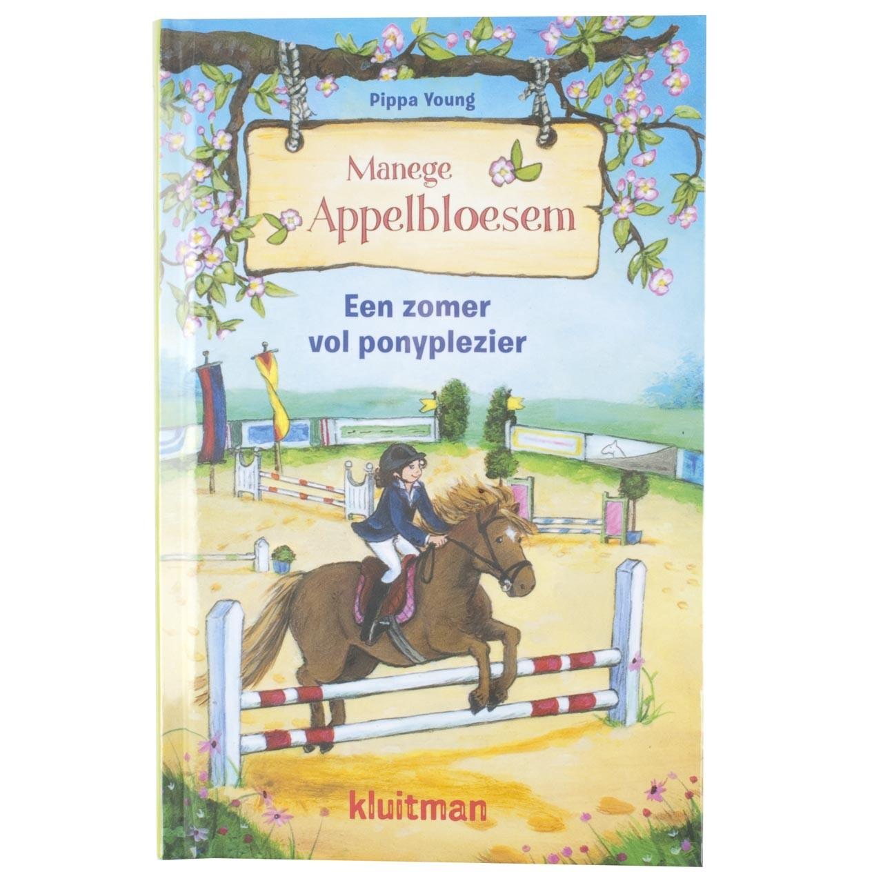Manege Appelbloesem, een zomer vol ponyplezier