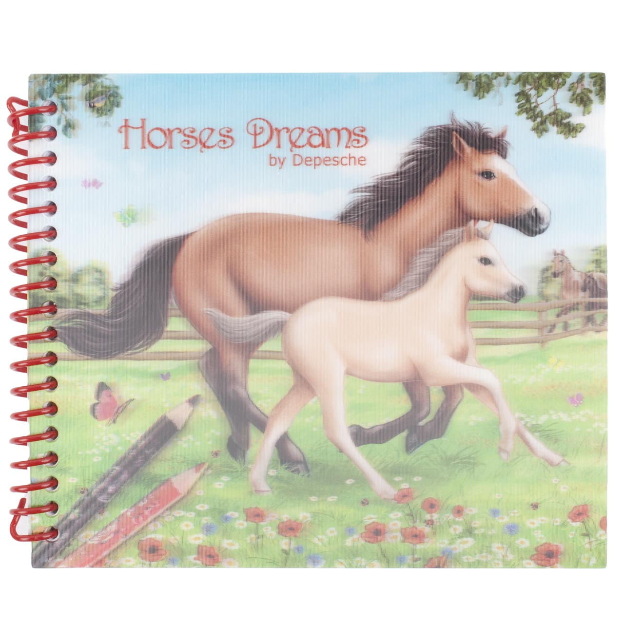 Horses Dreams pocket kleurboek