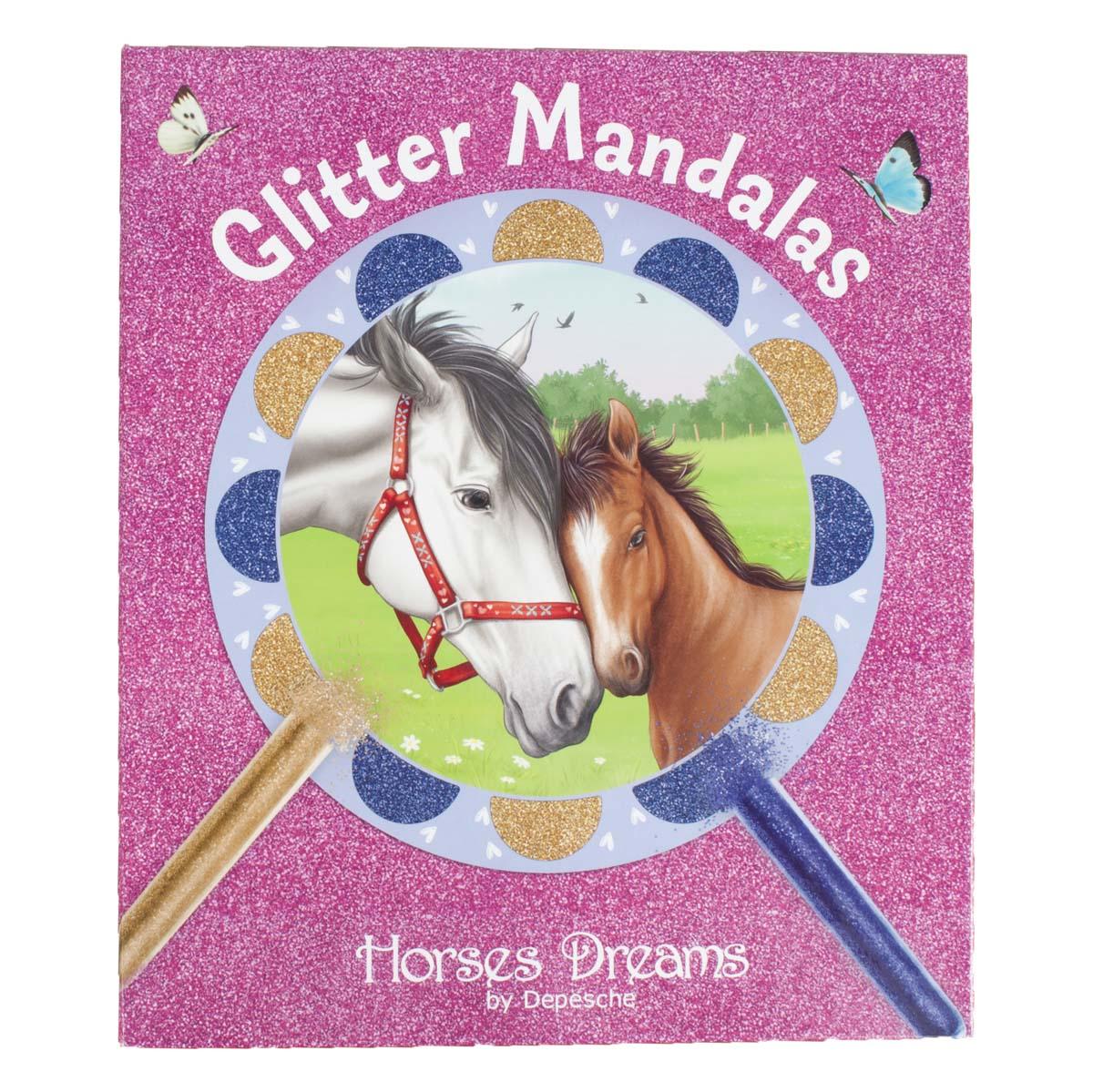Horses Dreams Glitter Mandalas