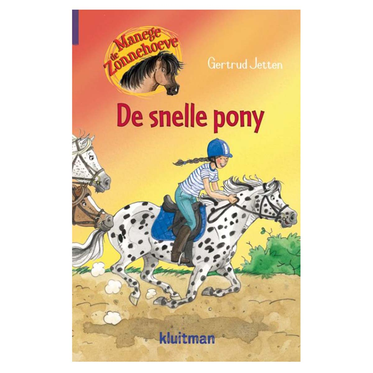 Manege de Zonnehoeve, de snelle pony