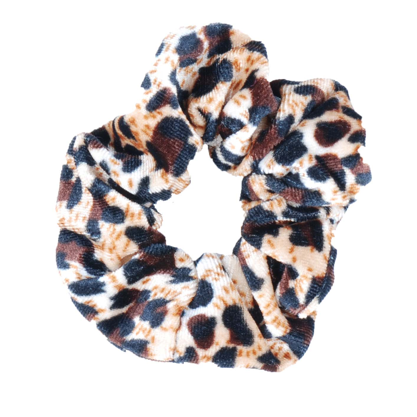 Mondoni Scrunchie Leopard beige