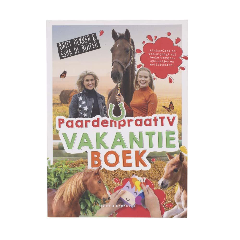 PaardenpraatTV, vakantieboek