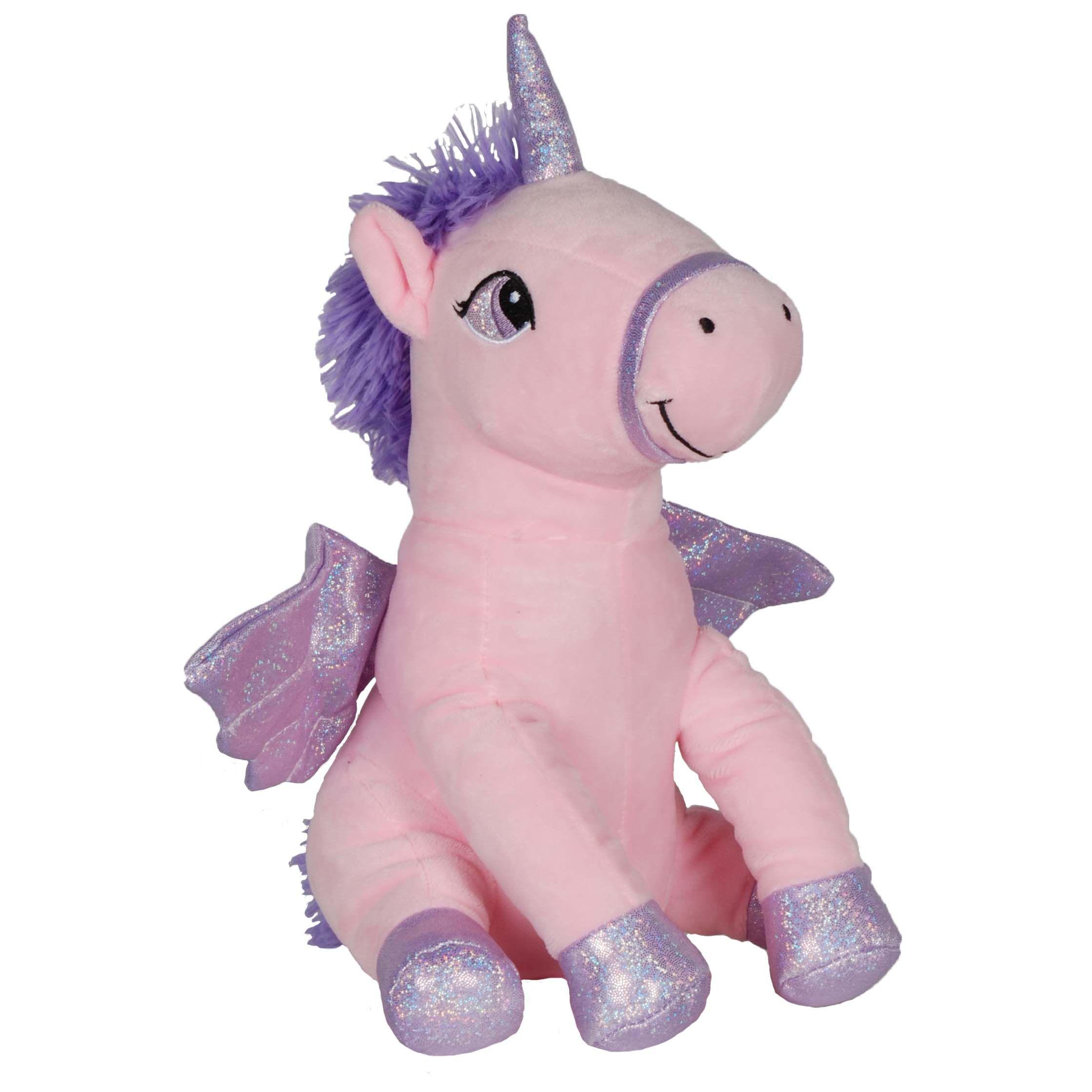 Knuffel Maggie the Unicorn roze