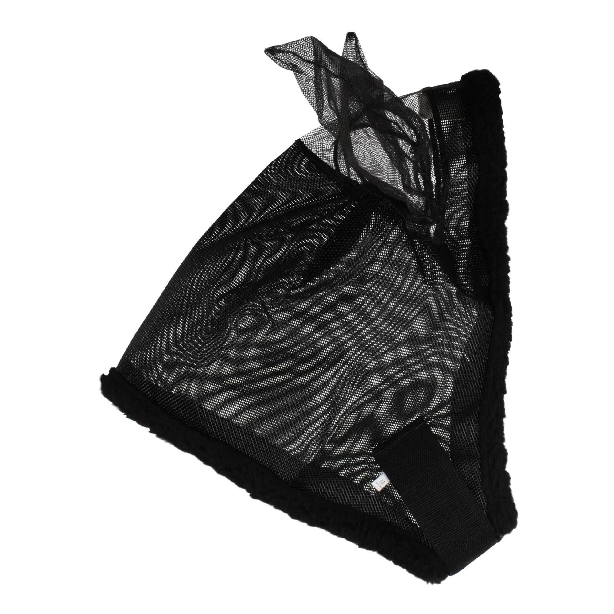 Harry's Horse vliegenmasker met oren zwart maat:l