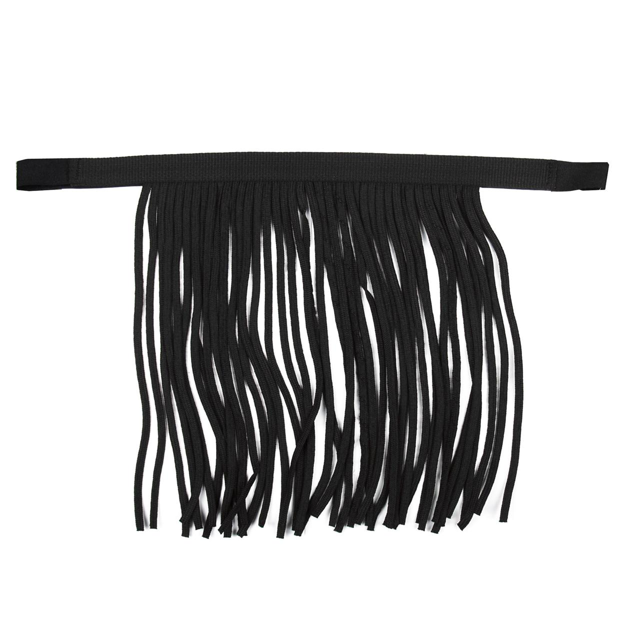 Pagony vliegenfrontriem nylon zwart maat:full