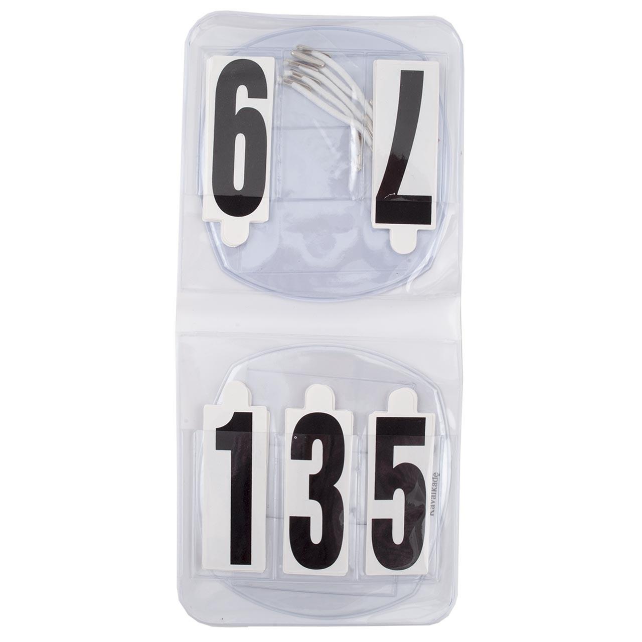 Set hoofdstelnummers wit