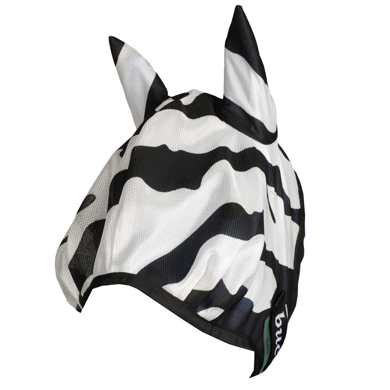 Bucas Buzzoff Zebra vliegenmasker