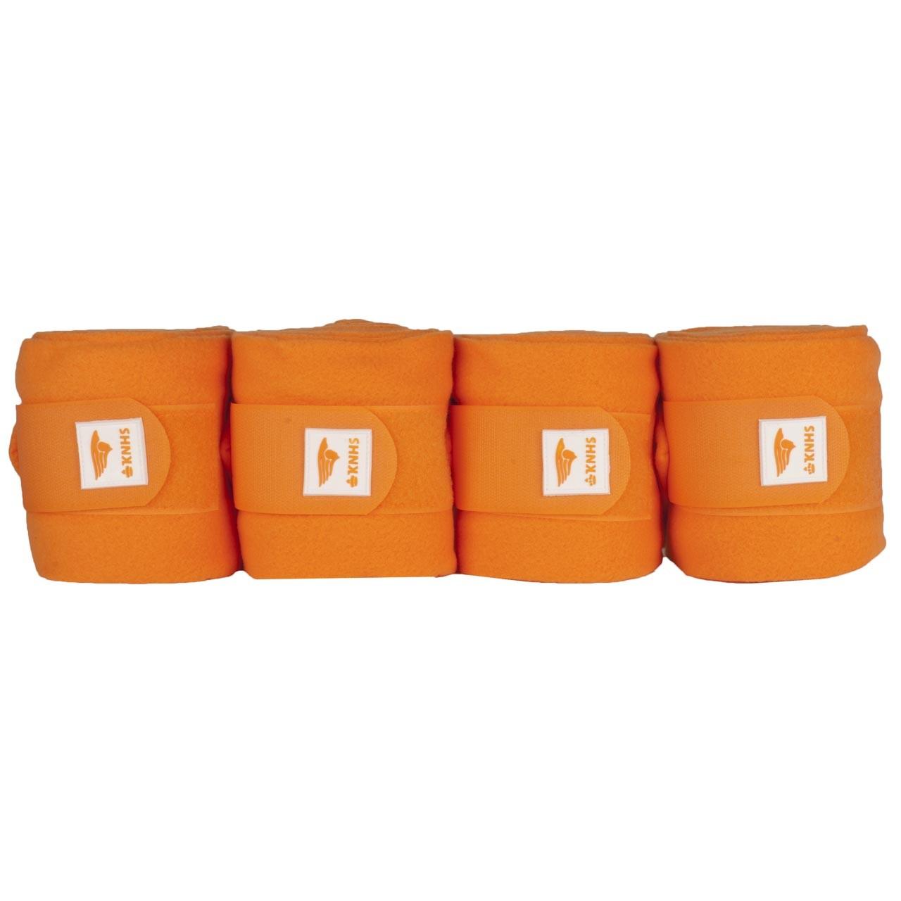 KNHS Fleecebandages II oranje
