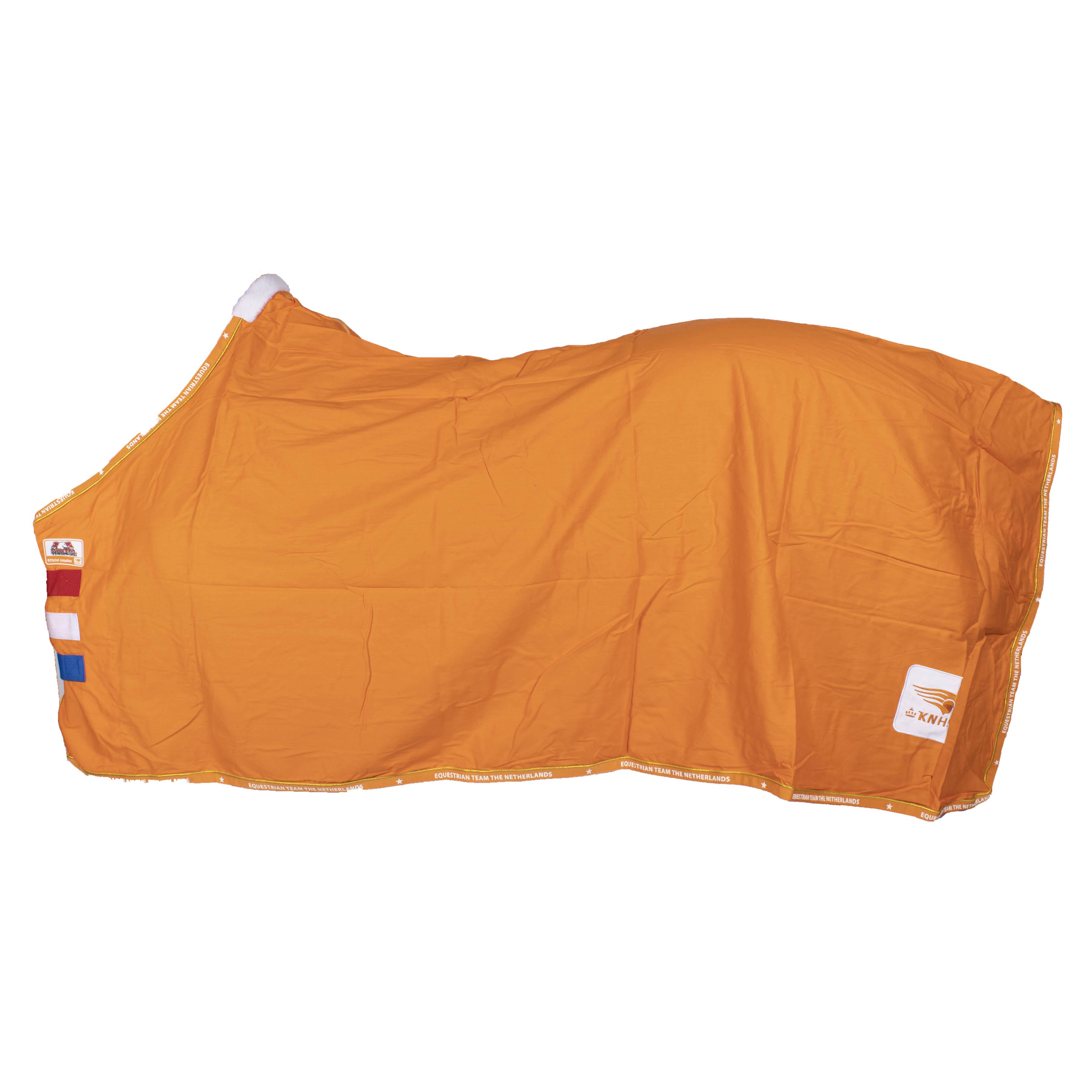 KNHS Team III zomerdeken oranje maat:175