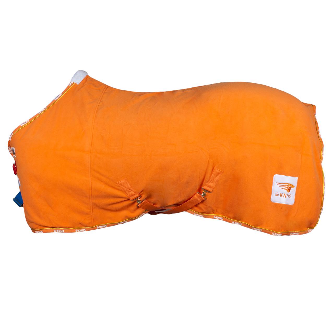 KNHS Team Fleecedeken III oranje maat:155