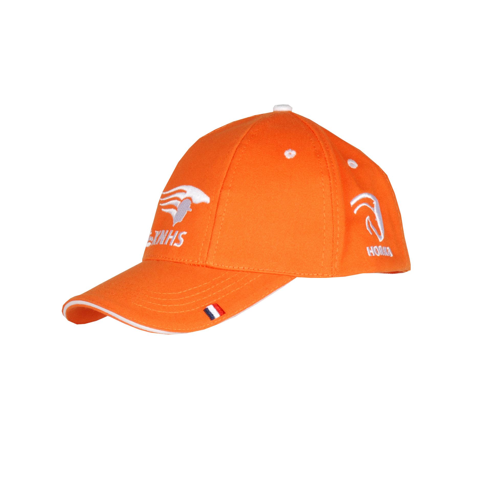 KNHS Fan cap oranje maat:s