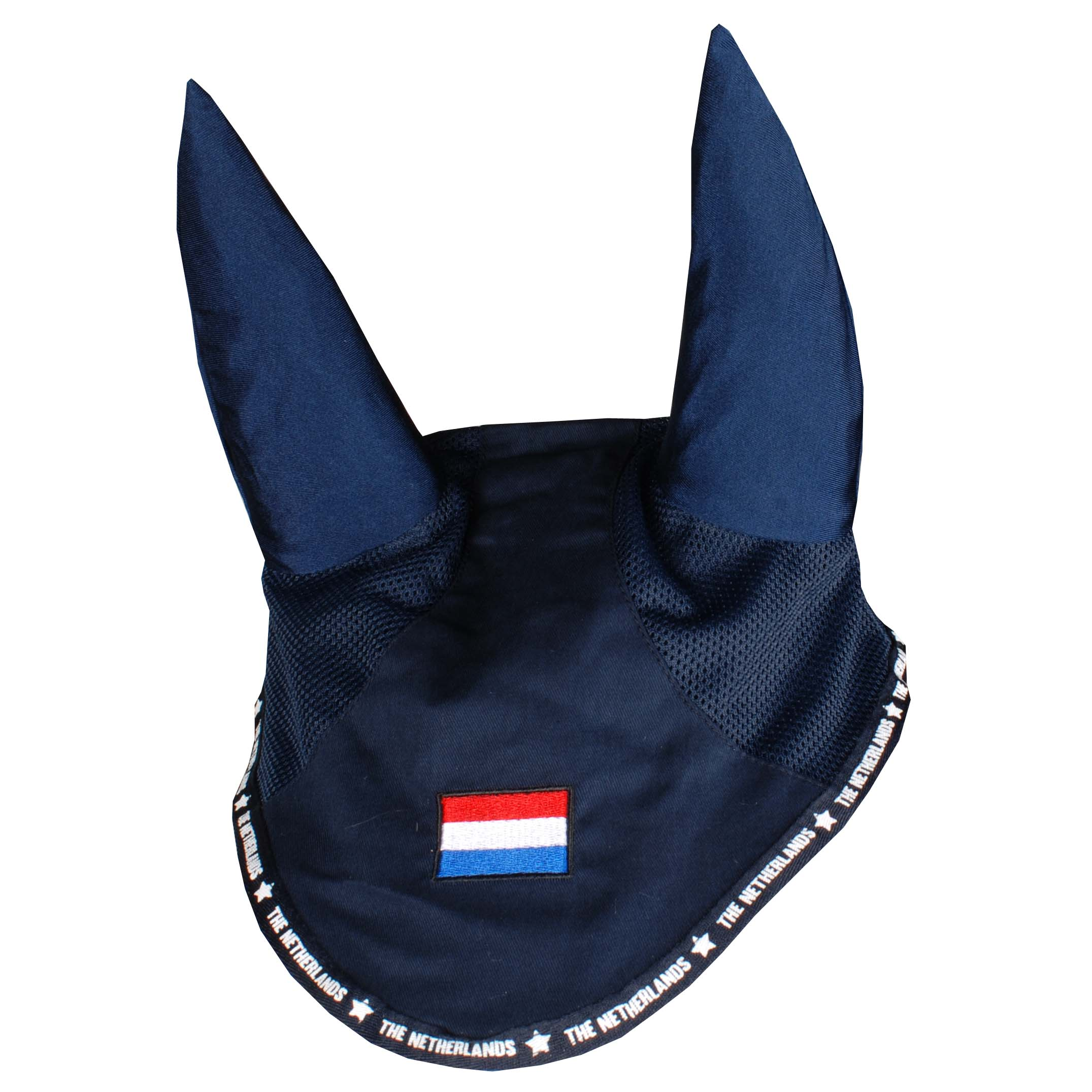 Pagony Netherlands oornetje donkerblauw maat:pony
