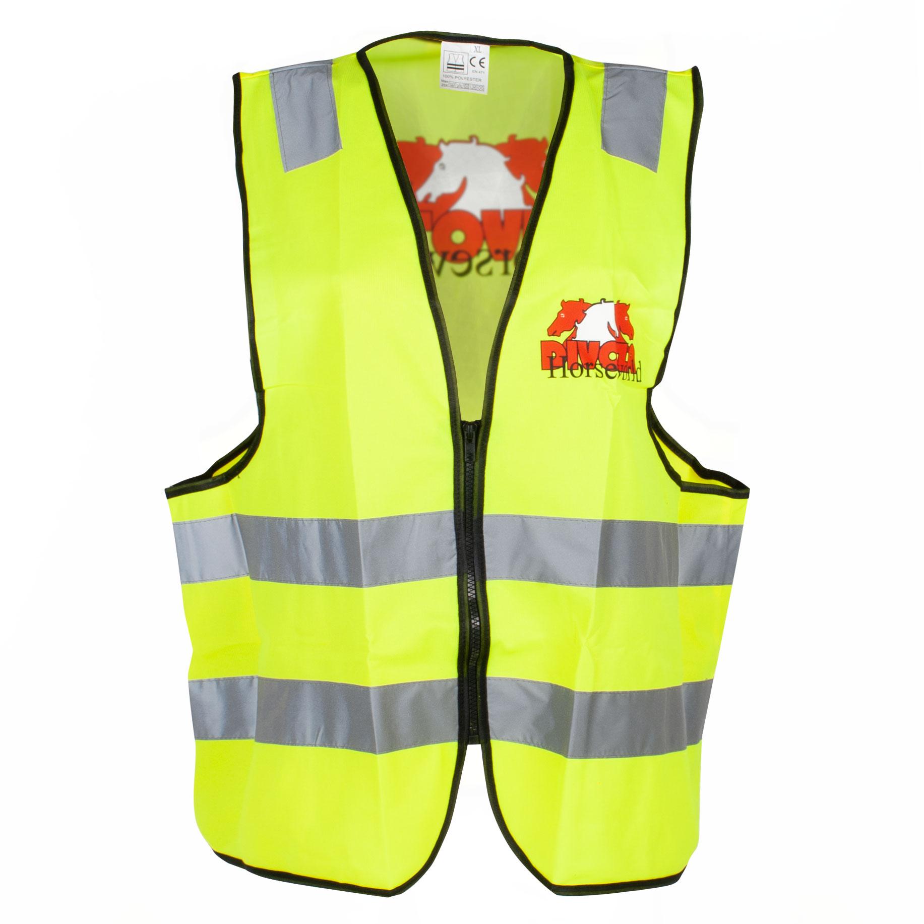 Divoza vest reflecterend geel maat:l